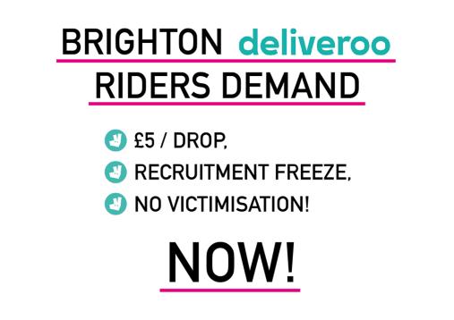 Deliveroo Demands